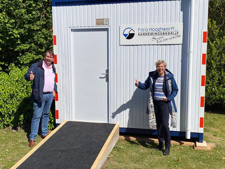 Wethouder Joanne Blaak bezoekt De Hoge Weide in Strijen
