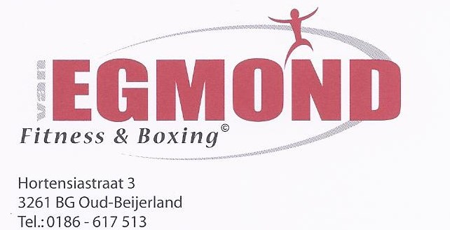 Dick van Egmond, sportschool Fitness & Boxing.